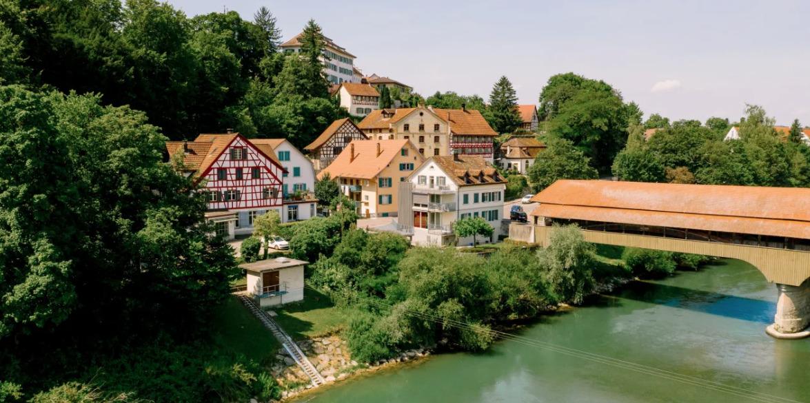 Historischer Brückenort Andelfingen